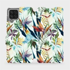 Flip pouzdro Mobiwear na mobil Samsung Galaxy M22 - M071P Flóra