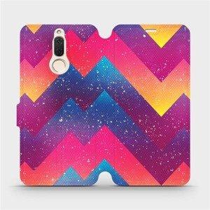 Flipové pouzdro Mobiwear na mobil Huawei Mate 10 Lite - V110S Barevné klikyháky