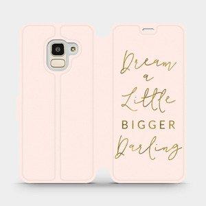 Flipové pouzdro Mobiwear na mobil Samsung Galaxy J6 2018 - M014S Dream a little