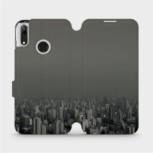 Flipové pouzdro Mobiwear na mobil Huawei Y7 2019 - V063P Město v šedém hávu