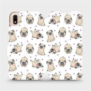 Flipové pouzdro Mobiwear na mobil Huawei Y5 2019 - M097P Mopsíci
