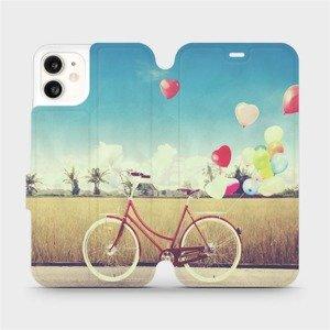 Flipové pouzdro Mobiwear na mobil Apple iPhone 11 - M133P Kolo a balónky