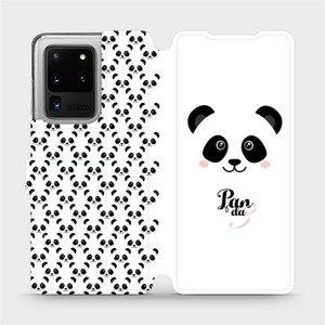 Flipové pouzdro Mobiwear na mobil Samsung Galaxy S20 Ultra - M030P Panda Amálka