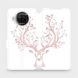 Flipové pouzdro Mobiwear na mobil Xiaomi MI 10T Lite - M007S Růžový jelínek