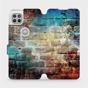 Flipové pouzdro Mobiwear na mobil Motorola Moto G 5G - V061P Zeď