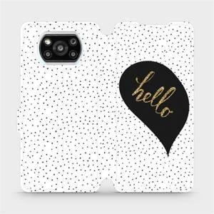Flipové pouzdro Mobiwear na mobil Xiaomi Poco X3 Pro - M013P Golden hello
