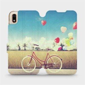 Flipové pouzdro Mobiwear na mobil Huawei Y5 2019 - M133P Kolo a balónky