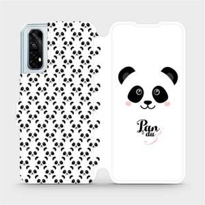 Flipové pouzdro Mobiwear na mobil Realme 7 - M030P Panda Amálka
