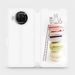 Flipové pouzdro Mobiwear na mobil Xiaomi MI 10T Lite - M090P Makronky - have a nice day