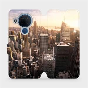 Flipové pouzdro Mobiwear na mobil Nokia 5.4 - M138P New York