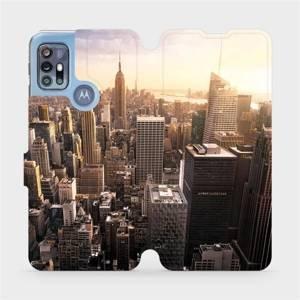 Flipové pouzdro Mobiwear na mobil Motorola Moto G20 - M138P New York