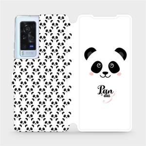 Flip pouzdro Mobiwear na mobil Vivo X60 Pro 5G - M030P Panda Amálka