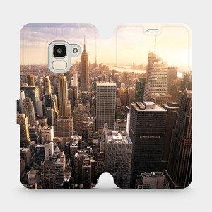 Flipové pouzdro Mobiwear na mobil Samsung Galaxy J6 2018 - M138P New York