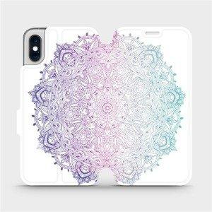 Flipové pouzdro Mobiwear na mobil Apple iPhone XS - M008S Mandala