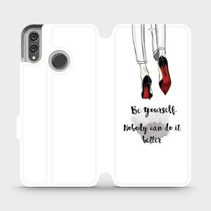 Flipové pouzdro Mobiwear na mobil Honor 8X - M046P Be yourself