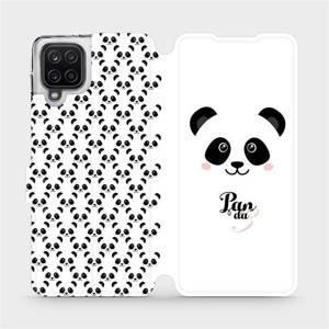 Flipové pouzdro Mobiwear na mobil Samsung Galaxy A12 - M030P Panda Amálka