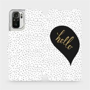 Flipové pouzdro Mobiwear na mobil Xiaomi Redmi Note 10 - M013P Golden hello