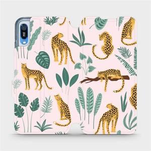 Flip pouzdro Mobiwear na mobil Huawei Y6 2019 - MP07S Leopardi