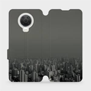 Flip pouzdro Mobiwear na mobil Nokia G20 - V063P Město v šedém hávu
