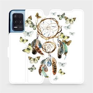 Flip pouzdro Mobiwear na mobil Realme 8 5G - M001P Lapač a motýlci