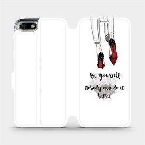 Flipové pouzdro Mobiwear na mobil Honor 7S - M046P Be yourself