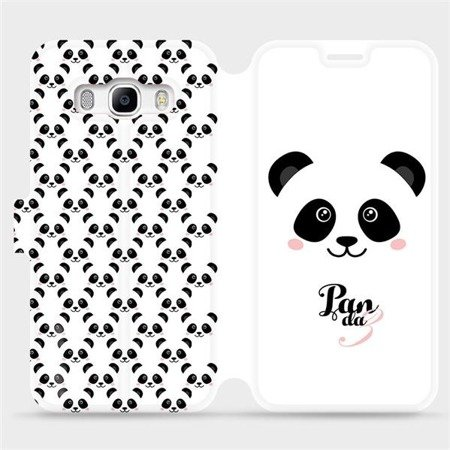 Flipové pouzdro Mobiwear na mobil Samsung Galaxy J5 2016 - M030P Panda Amálka