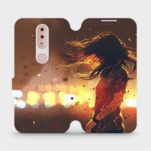 Flipové pouzdro Mobiwear na mobil Nokia 4.2 - MA02S Tetovaná dívka
