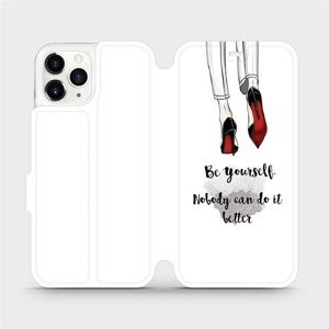 Flipové pouzdro Mobiwear na mobil Apple iPhone 11 Pro - M046P Be yourself