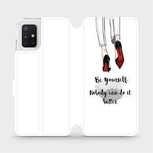 Flipové pouzdro Mobiwear na mobil Samsung Galaxy A51 - M046P Be yourself