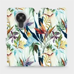 Flipové pouzdro Mobiwear na mobil Nokia 5.3 - M071P Flóra