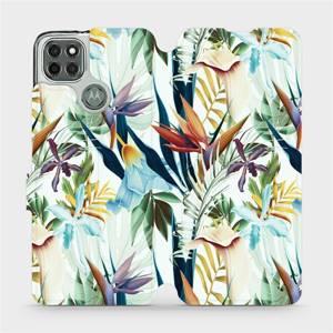 Flipové pouzdro Mobiwear na mobil Motorola Moto G9 Power - M071P Flóra
