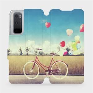 Flipové pouzdro Mobiwear na mobil Vivo Y70 - M133P Kolo a balónky