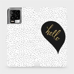 Flip pouzdro Mobiwear na mobil Realme 8 - M013P Golden hello