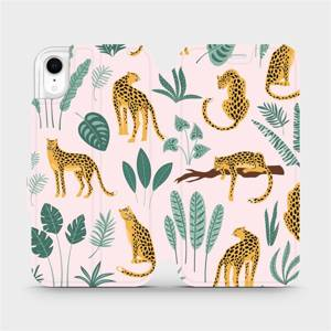 Flip pouzdro Mobiwear na mobil Apple iPhone XR - MP07S Leopardi