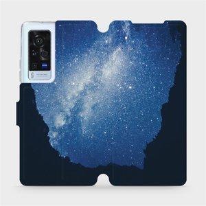 Flip pouzdro Mobiwear na mobil Vivo X60 Pro 5G - M146P Galaxie