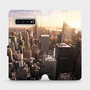 Flipové pouzdro Mobiwear na mobil Samsung Galaxy S10 - M138P New York