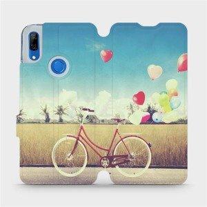 Flipové pouzdro Mobiwear na mobil Huawei P Smart Z - M133P Kolo a balónky