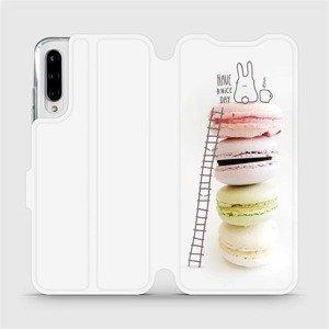 Flipové pouzdro Mobiwear na mobil Xiaomi Mi A3 - M090P Makronky - have a nice day
