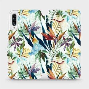 Flipové pouzdro Mobiwear na mobil Samsung Galaxy A30s - M071P Flóra