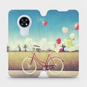Flipové pouzdro Mobiwear na mobil Nokia 6.2 - M133P Kolo a balónky