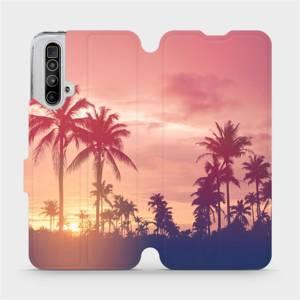 Flipové pouzdro Mobiwear na mobil Realme X3 SuperZoom - M134P Palmy a růžová obloha