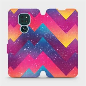 Flipové pouzdro Mobiwear na mobil Motorola Moto G9 Play - V110S Barevné klikyháky
