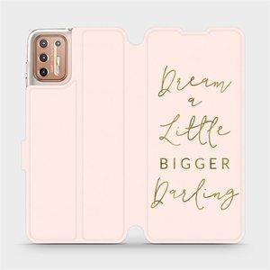 Flipové pouzdro Mobiwear na mobil Motorola Moto G9 Plus - M014S Dream a little
