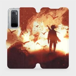 Flipové pouzdro Mobiwear na mobil Vivo Y70 - MA06S Postava v ohni