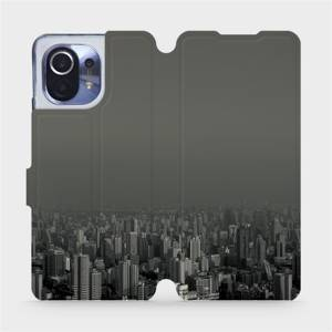 Flipové pouzdro Mobiwear na mobil Xiaomi Mi 11 - V063P Město v šedém hávu
