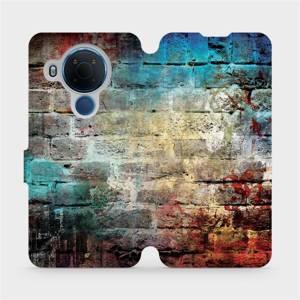 Flipové pouzdro Mobiwear na mobil Nokia 5.4 - V061P Zeď