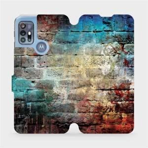 Flipové pouzdro Mobiwear na mobil Motorola Moto G20 - V061P Zeď