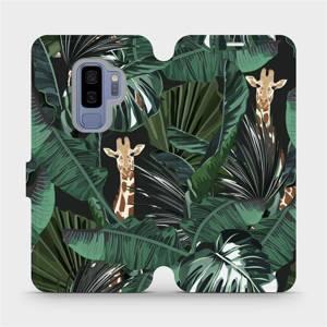 Flip pouzdro Mobiwear na mobil Samsung Galaxy S9 Plus - VP06P Žirafky