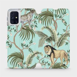 Flip pouzdro Mobiwear na mobil Samsung Galaxy M31s - MP08S Dvě kočičky
