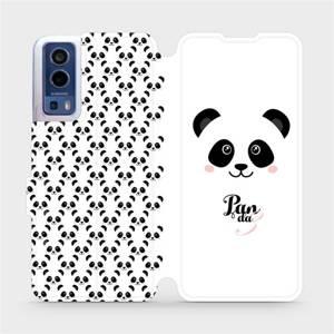 Flip pouzdro Mobiwear na mobil Vivo Y72 5G / Vivo Y52 5G - M030P Panda Amálka